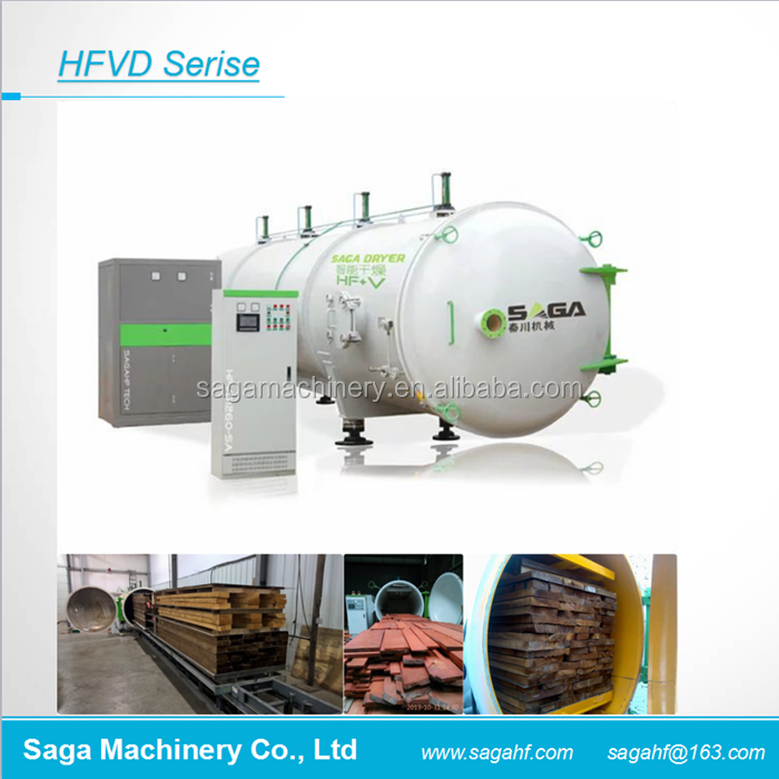 HFVD80-SA <strong>Wood</strong> Drying High Frequency Vacuum Kiln Machine