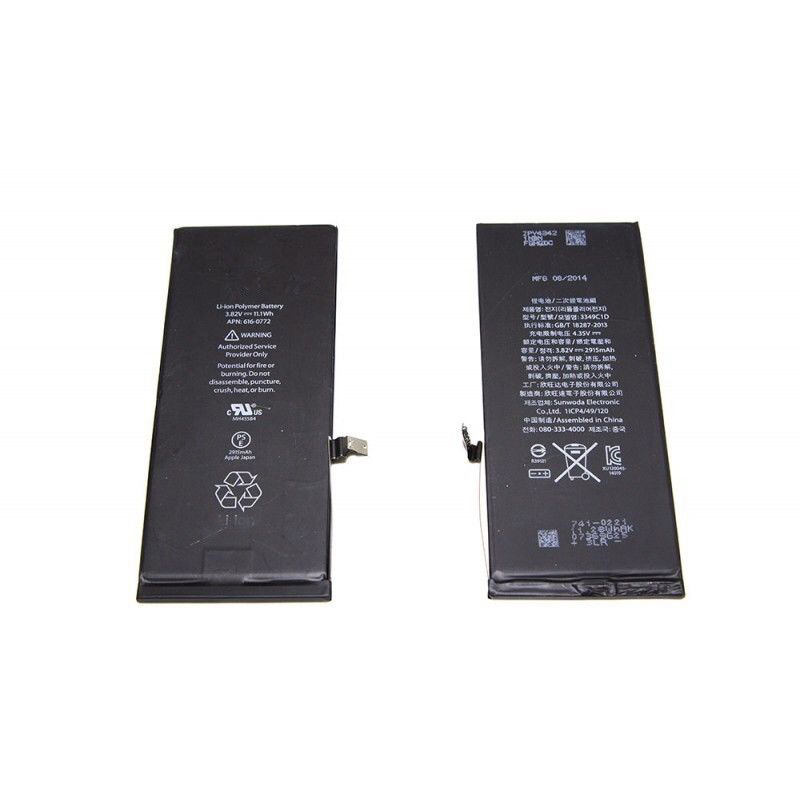 100% original new smartphone battery for iphone 6 plus replacement,for iphone 6 plus battery original 2915mah