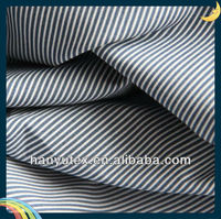 cotton poplin fabric cotton blue and white striped