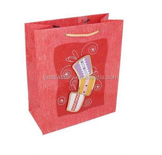 Big discount-white matte paper bag 1409
