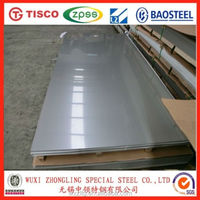 Sheet metal thickness mirror 304 stainless steel sheet