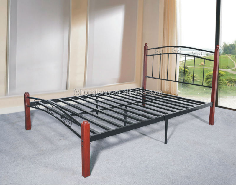 Design Metal Beds : Metal Bed/ New Fashion Design Iron Bed - Buy Twin Iron Bed,Full Metal ...