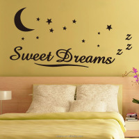 children wall stickers for kids rooms art vinyl quotes sweet dream words star kitchen wall stickers decals home decor for baby