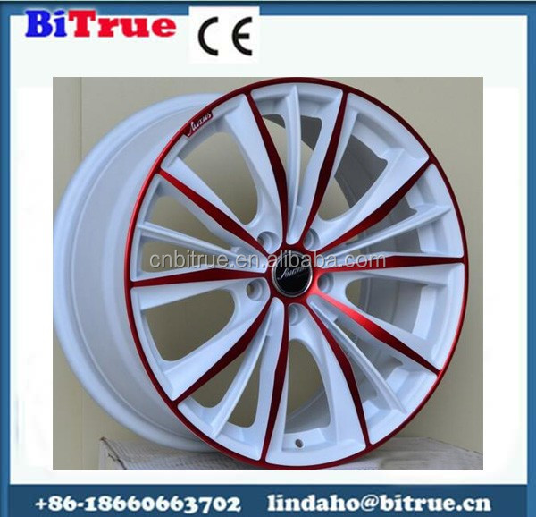 Lowest price chinese custom made plastic car rims