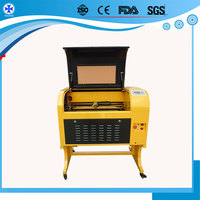 80 watt small 6040 co2 laser cutter machines price China