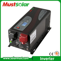 24V 6000w hybrid inverter with battery charger inside