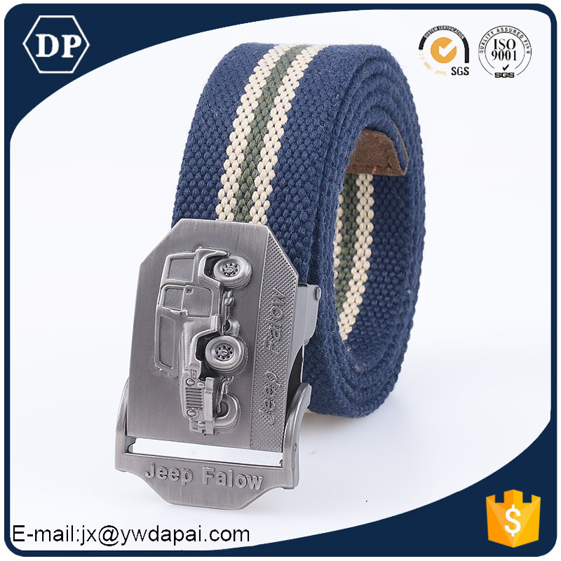 wholesale custom military canvas buckle belt