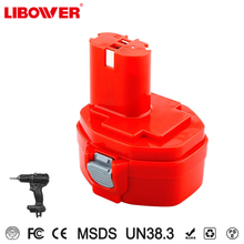Libower CE FCC ROHS makitaS 1420 1422 cordless drill battery/makitaS 14.4V NI-MH power tool battery