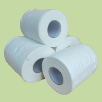 Factory cheap price 2 ply/3 ply white virgin wood pulp tissue roll toilet paper toilet tissue paper