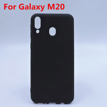 Soft Frosted Pudding TPU phone protective case cover for Samsung Galaxy M20