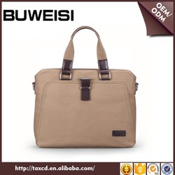 BUWEISI Casual Office Bags Cotton Canvas Tote Shoulder Bag