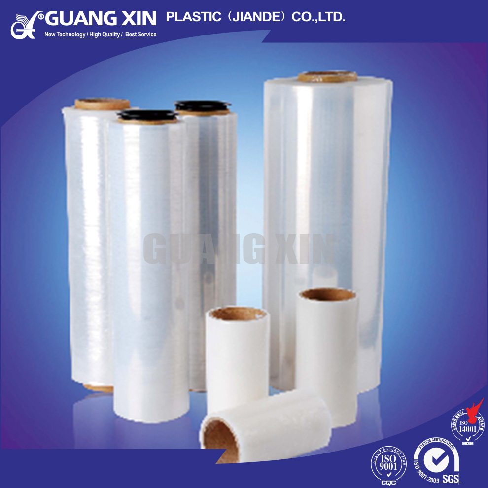 Strong tear resistance bale wrap film