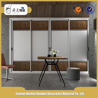Double color design furniture bedroom wardrobe door laminate