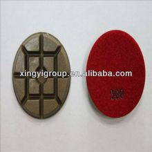 foam natural diamond polishing pad