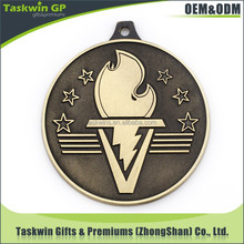 Hot selling torch metal medal display stand for promotional gifts