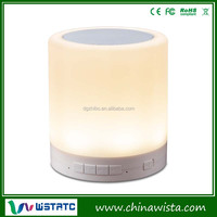 2015 new product 5W touch lamp portable speaker bluetooth speaker made in china