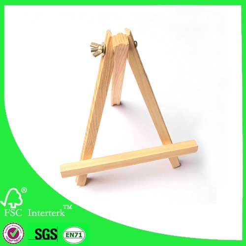 mini canvas easel for kids /Mini wooden easel/easel factory