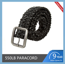 Outdoor Activities Survival Polyester Paracord Belt 550 Rope