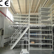 euro steel mezzanine floor/platform rack/metal racking