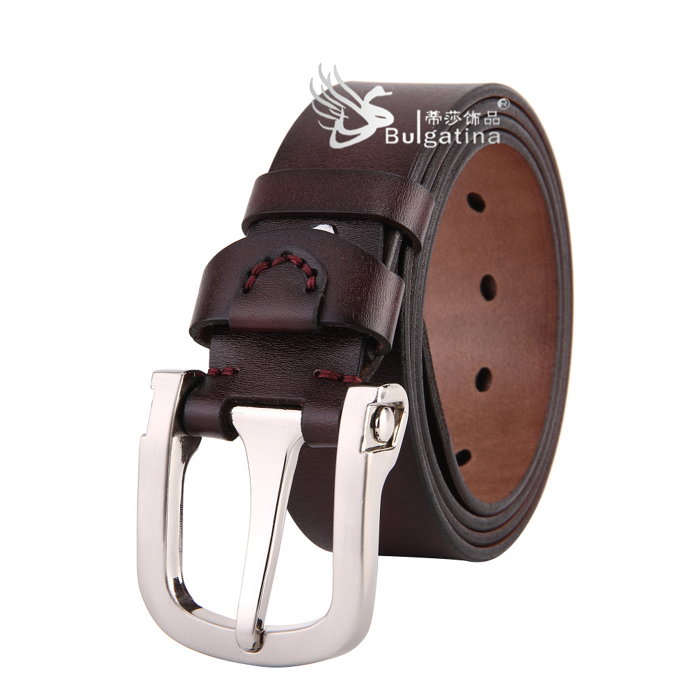 Newest Design Classic Belt Buckle Mens Leather Belts