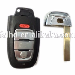 Remote Control Key For audi a7 remote 3 button key with panic button A6l.a4l.q5.s5.rs5.a7.a8l 434mhz