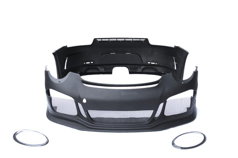 Trade Assurance Body Kit Fit For 2012-2014 911 991 Carrera Carrera S GT3-RS-Style Front Bumper Rear Bumper Trunk w/ GT Wing