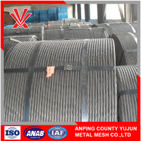 Hot dipped galvanized steel wire strand guy wire earth wire
