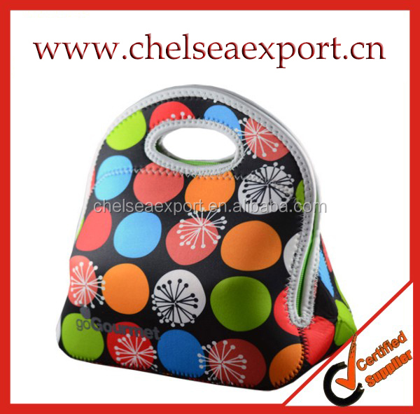 Neoprene Lunch Bags Cooler Insulation Lunch Bags For Women Thermal Bag For Kids Cooler Tote Handbag