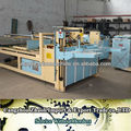 semi automatic glue machine , folder and gluer packaging equipment for carton box