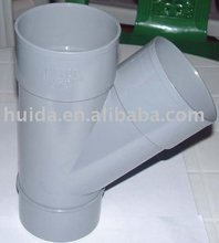 PVC pipe fitting mould Y Tee plastic injection mould
