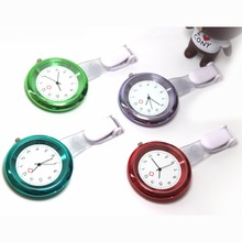 Color Plated Nurse Watches Simple Elegant Design High Qualtiy 8 colors for options