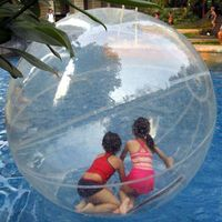 Inflatable Human Hamster Ball For Sale , Inflatable Water Ball For Kids