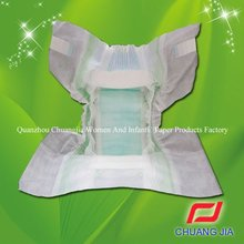 hot sell soft surface magic side tape disposable baby diaper baby nappy fraldas manufacturer in China