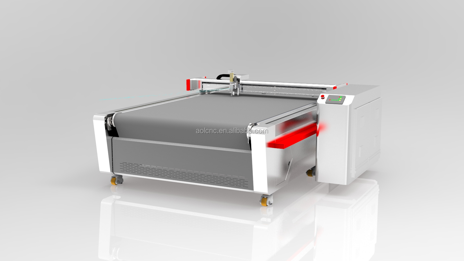 leather PVC Wire coil car floor mat cutting machine