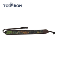 2015 hot sale camo neoprene and leather rifle gun hunting 2 point sling