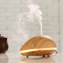 GX Diffuser cashew shape cool mist 2017 12V Lamp electric ionizing aroma diffuser, difuser aroma ultrasonic