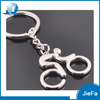 High quality promotional can printing logo stainless steel keychain