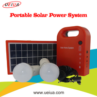 Portable home Solar Panel Kit with solar panel and light solar energy system