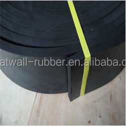 Best selling in Noth American marketing black industrial skirtboard rubber sheet customized size