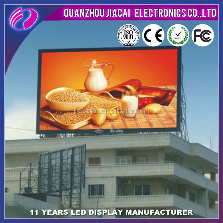 Best selling 8mm led screen full color outdoor led color display