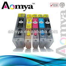 TOP quality !! refillable reset printer ink cartridge for canon PGI-550 CLI-551