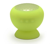 water-resistant Bluetooth speaker with suction cup