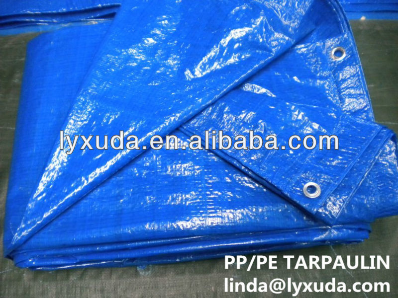 waterproof garden cover blue pe tarpaulin