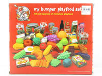 Kids funny plastic toy food play set kitchen toy set CA041687