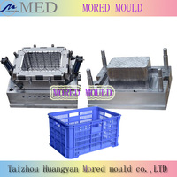 hot sale high quality competitive price injection fruit and vegetable crate mold