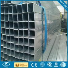 Zinc Coated Thickness on average 210g/sqm galvanized mild steel square building materials