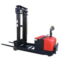 Mini 3-way Fully Electric Lifting Walkie Pallet Stacker