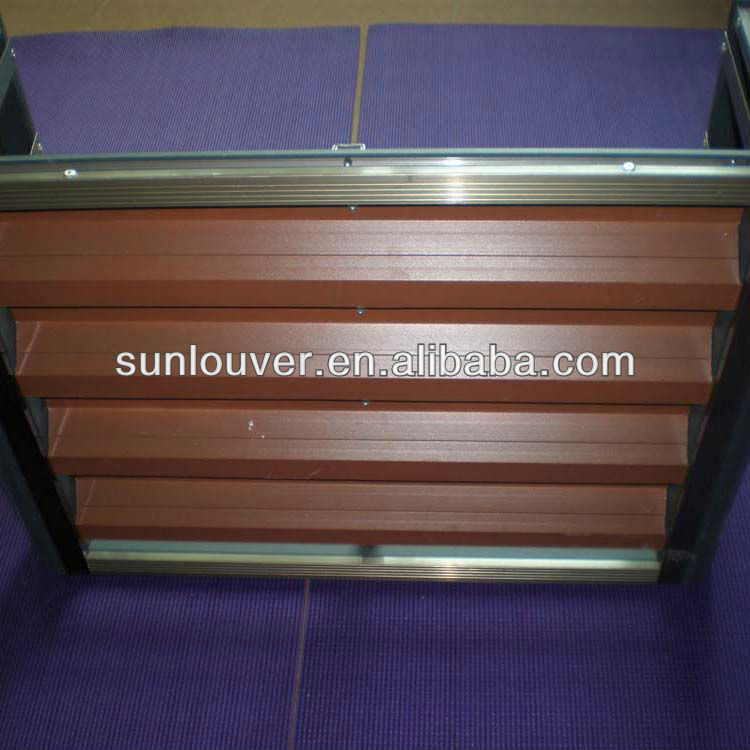 outdoor aluminum horizontal louver blinds