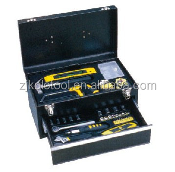 138PCS Aluminium Case Tool Set 3 Drawer Hand Tool Kit