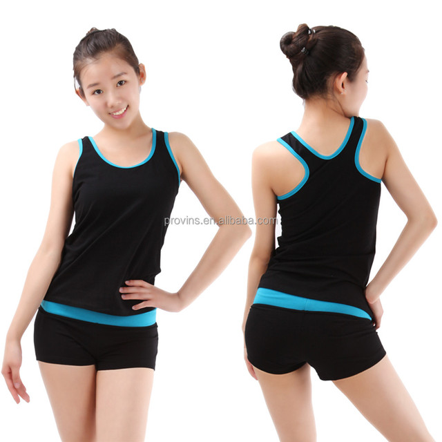 Adult Two Tone Slim Sports Shorts for Women